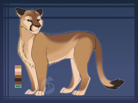 Male Puma Design by WolvesWoodGlen
