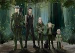 Five ages of Legolas by LokyL