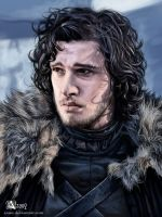 GoT: John Snow by Azany