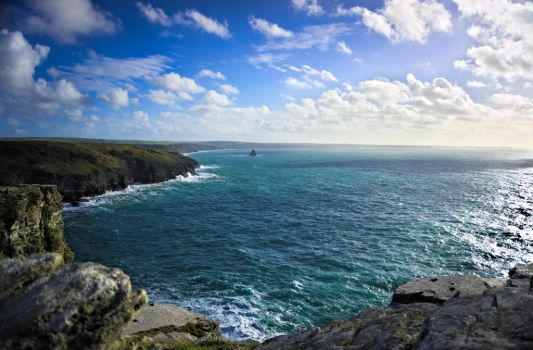 View From Tintagel by Josh-Media