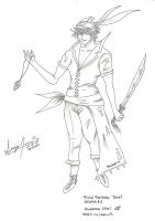 Sketch 01: Final Fantasy Thief by Paulcellx