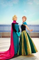 Only an act of true love can thaw a frozen heart by TwinseyCosplay