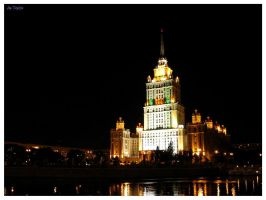 Moscow at night II by Terza