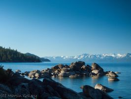 Lake Tahoe Morning by MartinGollery