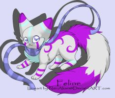 Feline Adoptable -CLOSED- by LunaX3Adoptables