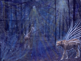 Forest of the dark animals by Avrodite