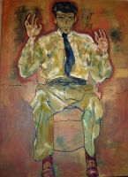 Reproduction of Schiele by FranciscaValdivieso