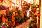 Floral Street by vin113