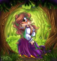 Forest Maiden by AmandaDaHamster