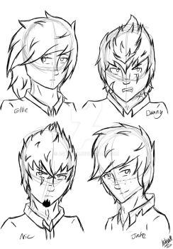 quick sketch-Cybernetic Group^-^XD!! by AshinoX1