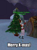 Merry Xmas WoW by Giolein