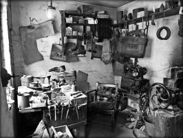 The Cobblers Workshop by Estruda