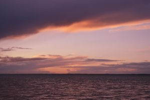 Purple/Orange Sky by edthefred
