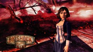 Bioshock Infinite Elisabeth Red by micro5797