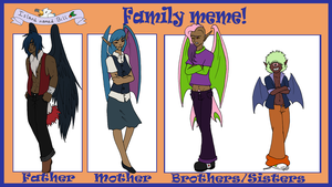 INB: Dane's family meme by CheruCheriPie
