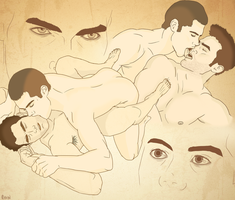 Sterek - The Boy Who Tamed The Wolf by wyxan