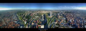 Istanbul Panorama by erenabice