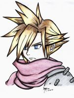 Cloud Strife: KH Style by Marionette56