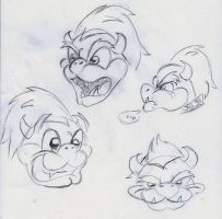 Bowser Faces by MightyBiteySnake