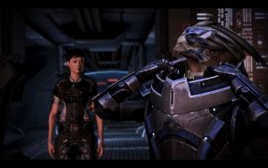 ME3 Jane Shepard and Garrus 11 by chicksaw2002