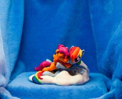 :Commission: Always there for me 4 by dustysculptures