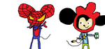 spider mouse and mickeywell by Deadmau5Nstuff