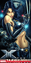 marvel superheroine by odin-gfx