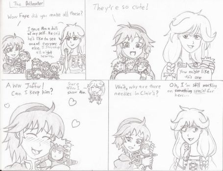 [FEH 4-Koma] 11: The Dollmaker by Willanator93