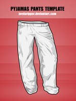 Pyjamas Pants Template by JovDaRipper