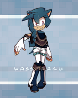 Auction. | Blue Hedgehog - CLOSED by wasseraku