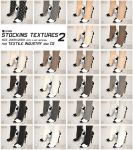 MX0035 - Stockings Texture Bundle 2 by zealkane