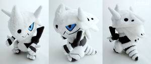 Mega aggron plush by d215lab