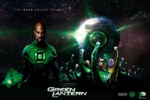 Green Lantern Corps movie poster by IGMAN51