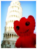 Wowo and the leaning tower by shockboogieninja