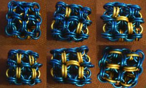 Chainmaille D6 by lunabellvarga
