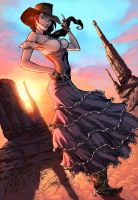 Once Upon A Time In The West Color by logicfun
