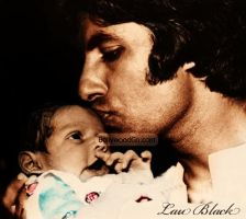 Big B and Baby Abhi by laublack