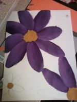 purple daisys not finished by deaththekidsgirl1030