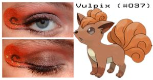 Pokemakeup 037 Vulpix by nazzara
