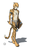 Cheetah Warrior by TitusW