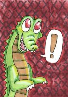 gator ACEO by anteatr