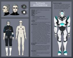 Tritium character sheet by Cnids