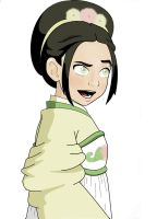 Toph Bei Fong colored by kataangavatar