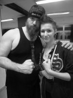 Zakk Wylde and me by viviannecamaro