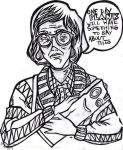 Log Lady Crossover by Just-A-Loser