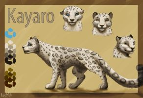 Reference Sheet for Kayaro by Ischta