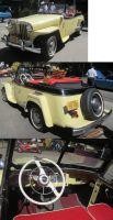 49 Willys Jeepster by zypherion