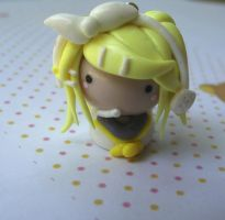 Clay Rin Chibi Charm by funkypinkgal