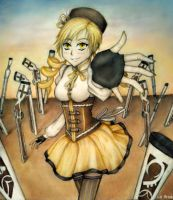 Mami Tomoe by RedLadyMercenary