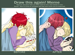 Before and After - Meme - by Ivy-Kuu